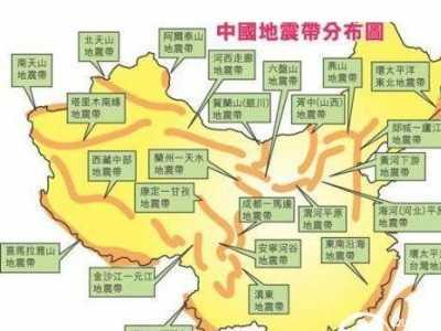 茂名地震 茂名市历史上地震统计及地震带分布图