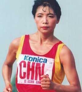 致竞走运动员通讯稿 中国著名女子竞走运动员